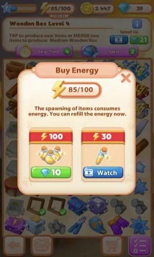 Merge Villa Energy