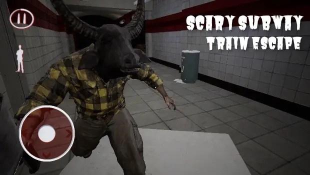 Scary Subway Train Escape 0