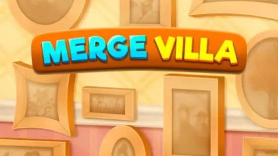 Merge Villa title screen