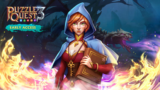 Puzzle Quest 3 early access title screen