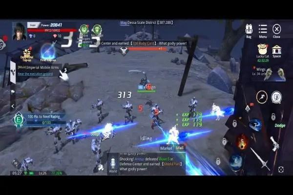 AbyssWalker Imperial Army Battle