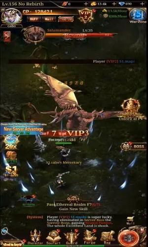 Android Immortal Legend Boss Battle