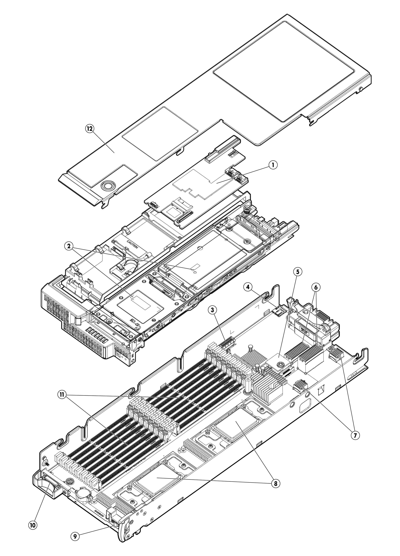 HP Proliant BL465c G8 Quickspecs
