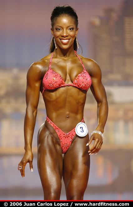 Latisha Wilder  twopiece  2006 Arnold Classic  Figure
