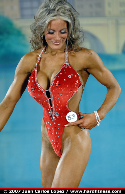 Nadine Baker  onepiece  2007 Arnold Classic and NPC Arnold Amateur