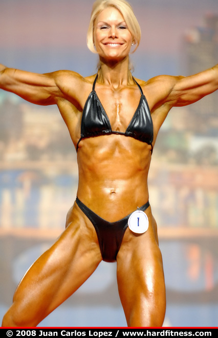 Tracy Beckham  prejudging  2008 Arnold Classic and Arnold Amateur