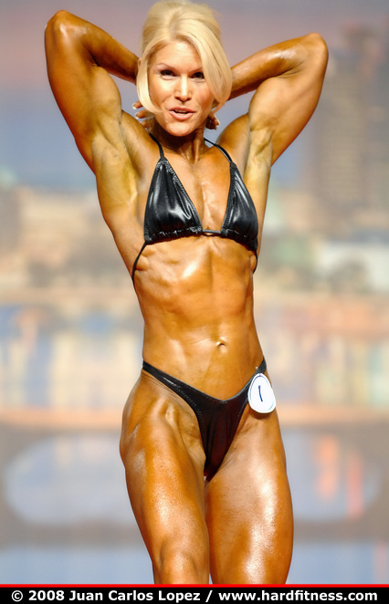 Tracy Beckham  prejudging  2008 Arnold Classic and