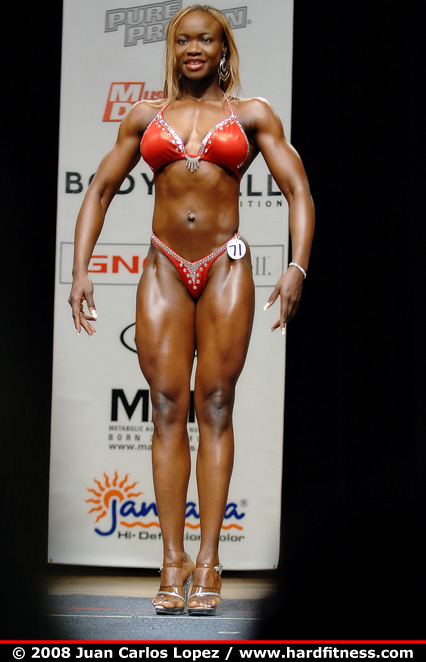 Charmaine Patterson Twopiece 2008 IFBB California Pro