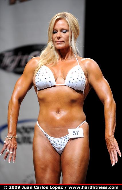 Raye Hollitt Twopiece 2009 California IFBB Figure Pro