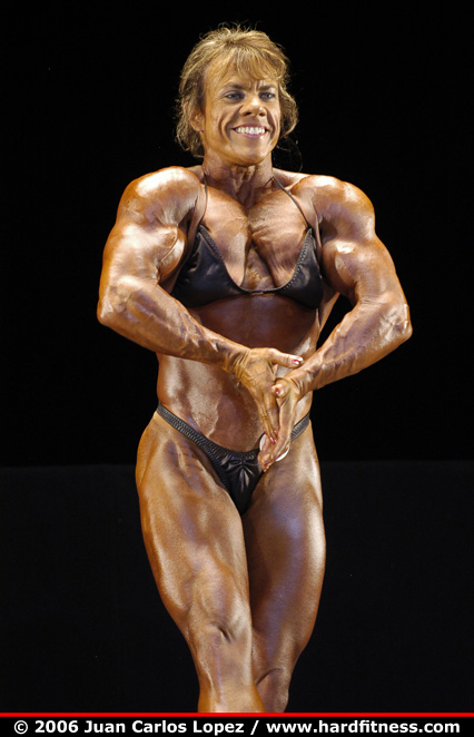 Kate Cooper  prejudging  2006 NPC National Bodybuilding and Fitness Championships