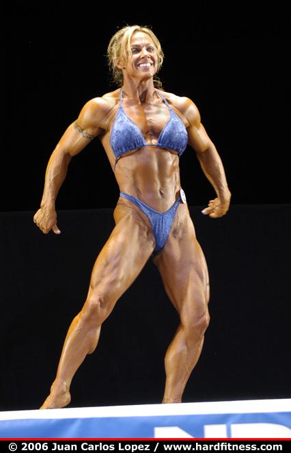 Brenda Smith  prejudging  2006 NPC National Bodybuilding and Fitness Championships