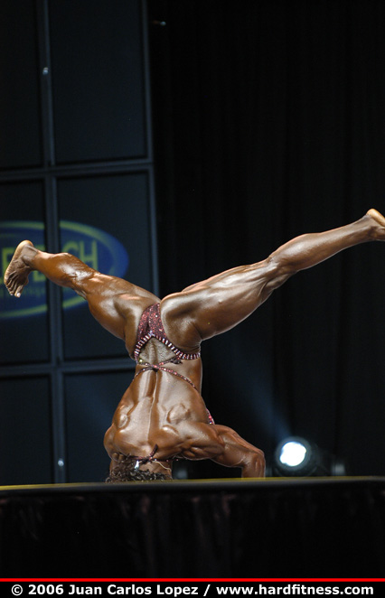 Dayana Cadeau Finals 2006 Olympia Fitness Figure And
