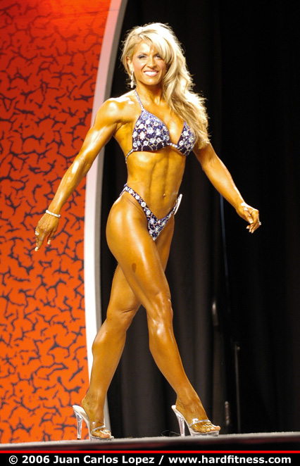 Michelle Flake  twopiece  2006 Olympia Fitness Figure