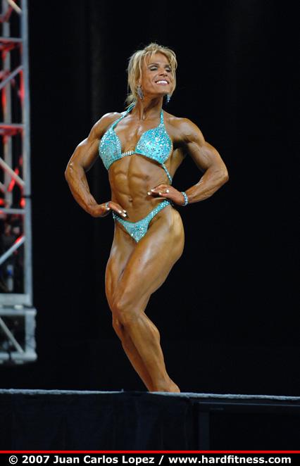 Stephanie Kessler  finals  2007 Olympia Fitness Figure
