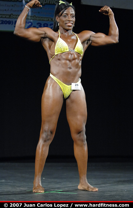 Ruthie Bolton  finals  2007 Sacramento Pro Figure and NPC Championships