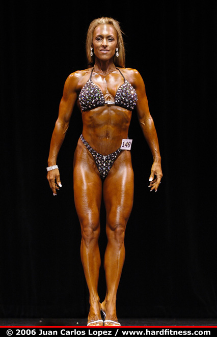 Stacy Cannady  twopiece  2006 Team Universe and NYC Pro
