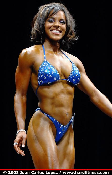 Alicia Harris  twopiece  2008 NPC Team Universe and NYC IFBB Pro Figure