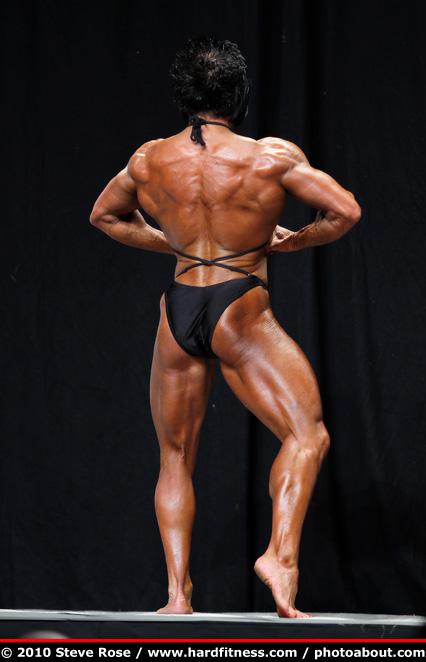 Jacqueline Horan  prejudging  2010 NPC USAs Championships