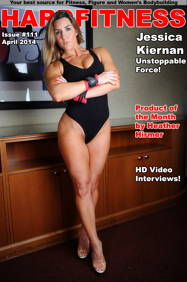 Hard Fitness Online Magazine Issue 111  20 Questions with Cover Model Jessica Kiernan