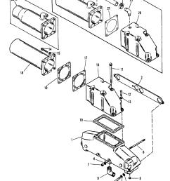 420 gm 454 v8 1987 1989 serial 0a398941 thru 0b622418 exhaust manifold elbow mercruiser system  [ 1913 x 2423 Pixel ]