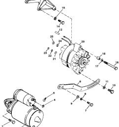 hardin marine starter and alternator7 4l bravo gen 5 gm 454 v 8 1992 [ 1830 x 2510 Pixel ]