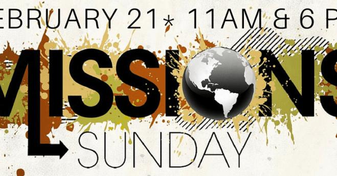 Mission's Sunday 2016