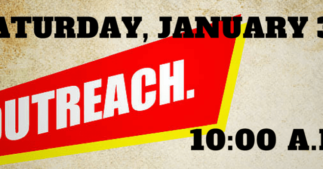 January 2016 Outreach Saturday