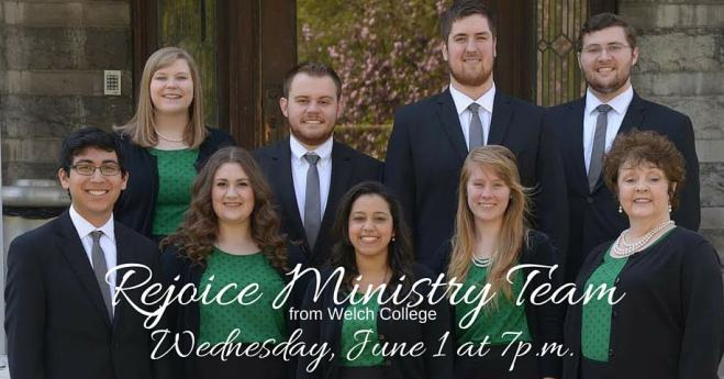 Rejoice Ministry Team from Welch College