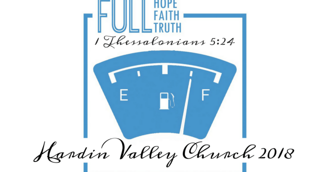 Hardin Valley Church Weekly News 02-18-18