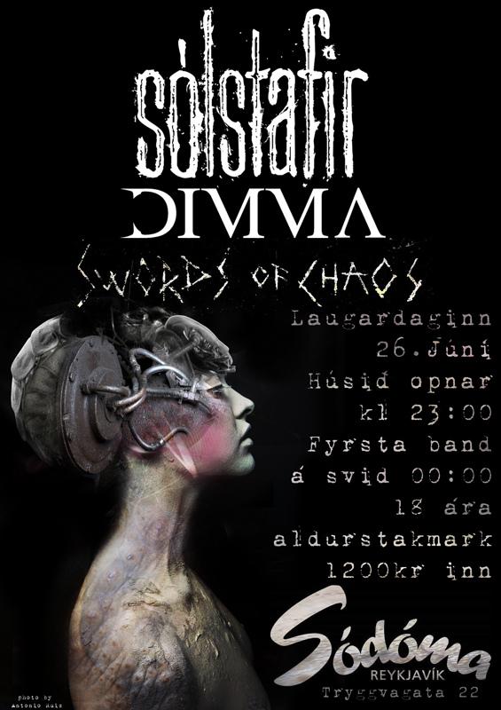 SÓLSTAFIR - DIMMA - SWORDS OF CHAOS