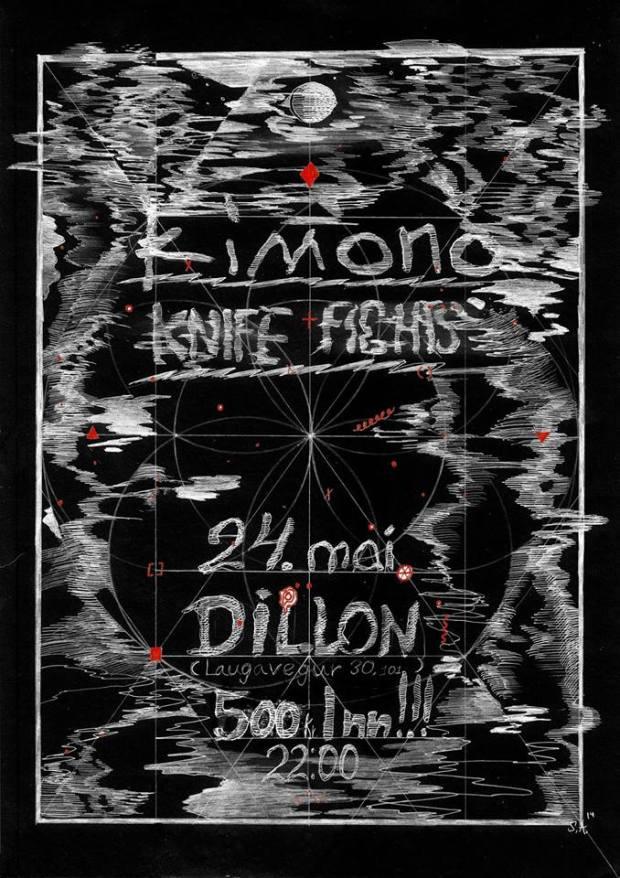 Kimono & Knife Fights á Dillon