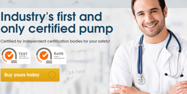 certified penis pump