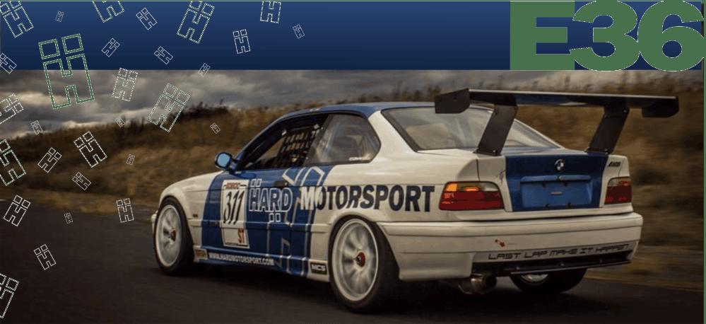 medium resolution of bmw e36 racing race car becauseracecar track parts fender flares