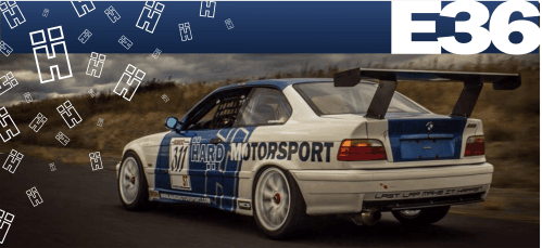 small resolution of bmw e36 racing race car becauseracecar track parts fender flares