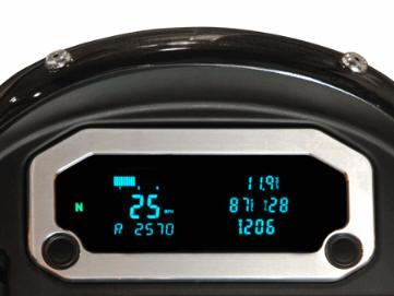 UTV Dakota Digital Display Speedometer oil pressure gauge