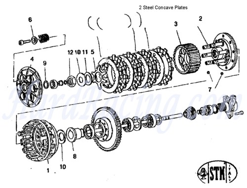 2013 Honda Crf450r Wiring Diagram Stm Slipper Clutch Stm Clutches Stm Clutchs Slipper Clutch