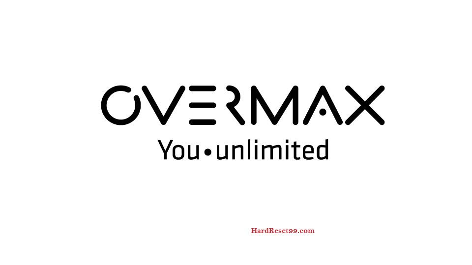 Overmax Vertis Famy2 Hard reset, Factory Reset and