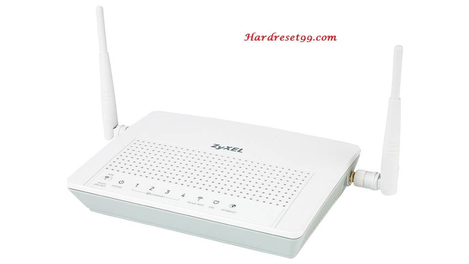 ZyXEL Router Factory Reset