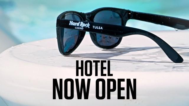 Hotel Now Open