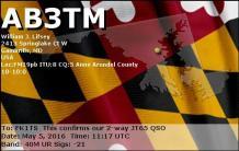 EQSL_AB3TM_20160505_112000_40M_JT65_1