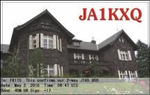 EQSL_JA1KXQ_20160502_094900_40M_JT65_1