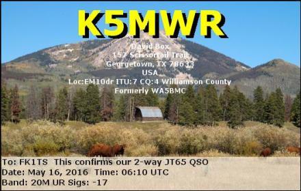 EQSL_K5MWR_20160516_061000_20M_JT65_1