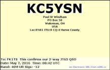 EQSL_KC5YSN_20160507_083900_40M_JT65_1