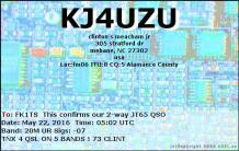 EQSL_KJ4UZU_20160522_050200_20M_JT65_1