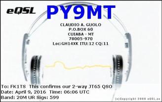 EQSL_PY9MT_20160409_060600_20M_JT65_1