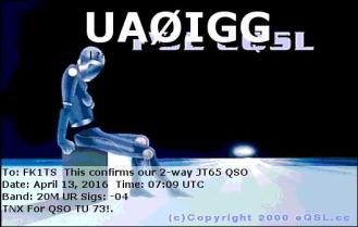 EQSL_UA0IGG_20160413_070600_20M_JT65_1
