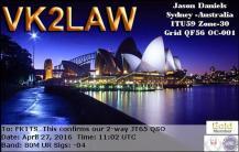 EQSL_VK2LAW_20160427_110100_80M_JT65_1