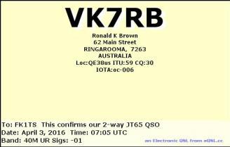 EQSL_VK7RB_20160403_070300_40M_JT65_1