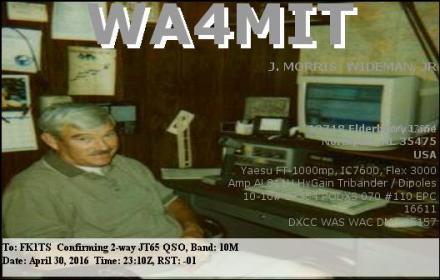 EQSL_WA4MIT_20160430_231200_10M_JT65_1