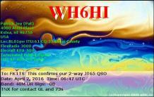 EQSL_WH6HI_20160402_070400_40M_JT65_1
